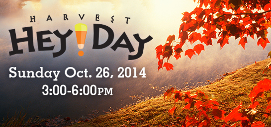Come enjoy inflatables, live music, and a chili cook-off at Harvest HeyDay!