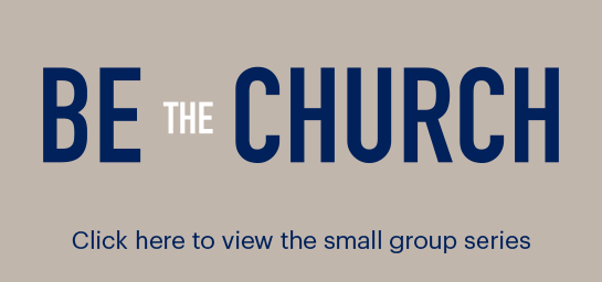 Be The Church Web Banner