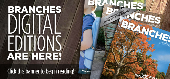 Click the banner to begin reading digital versions of Branches!