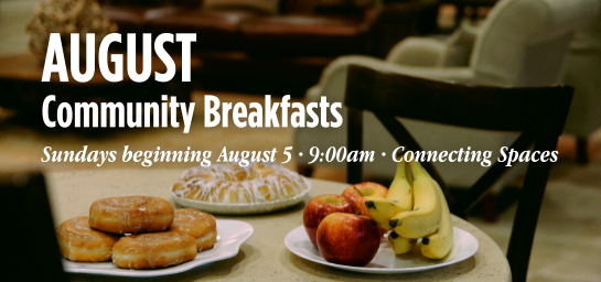 August Community Breakfast