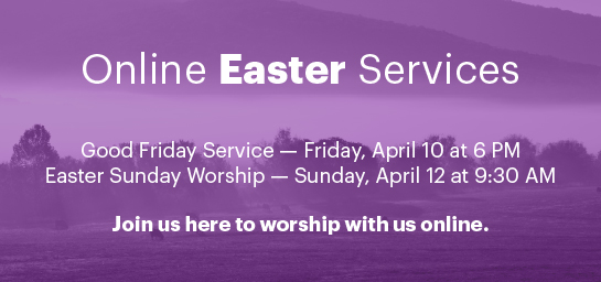 Online Easter Services