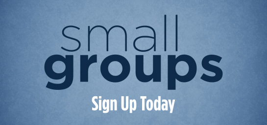 Small Groups Sign Up Today