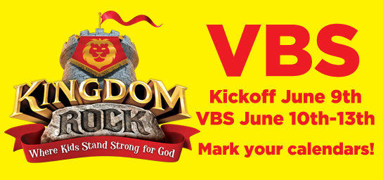 VBS Starts June 10th
