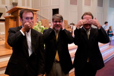 Hear no evil, See no evil, Speak no evil…yeah, right!